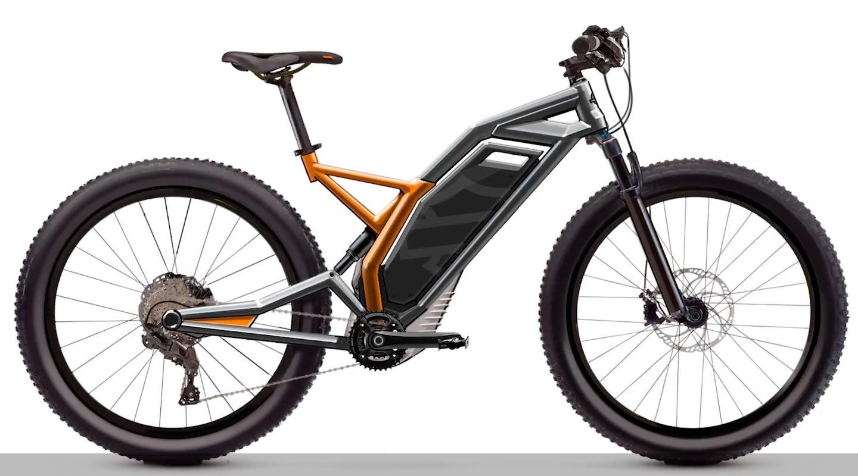 Harley Davidson E Bike Emtb Mountain Concept